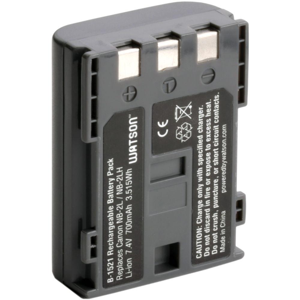 Watson Nb 2lh Lithium Ion Battery Pack 74v 700mah B 1521 Bh Short Circuit