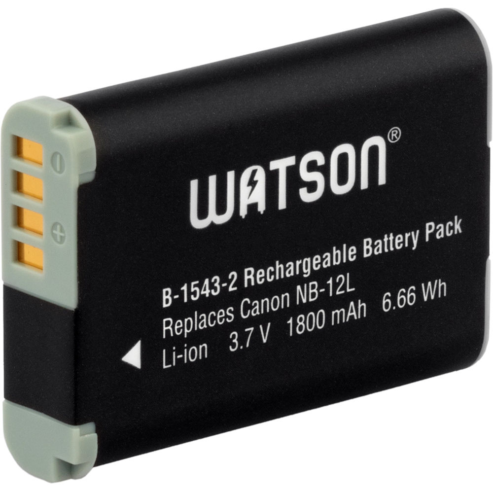 Watson EN-EL19 Lithium-Ion Battery Pack (3.7V, 700mAh)
