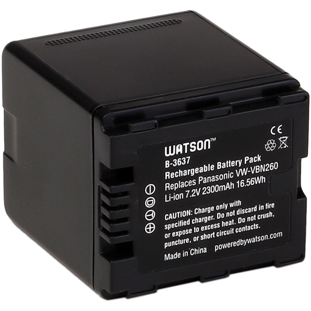 Lithium Ion Battery Pack Watson VW-VBN26...