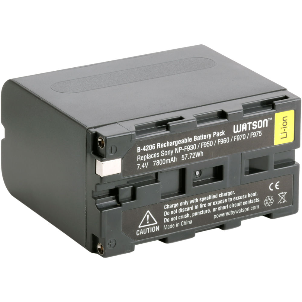Lithium Ion Battery Pack Watson NP-F975 ...