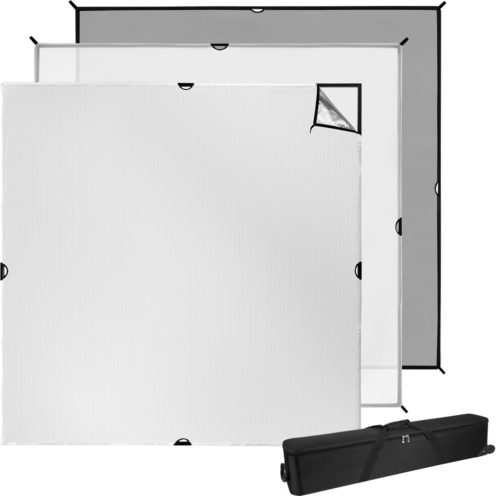 Westcott Scrim Jim Cine Video Kit (8 x 8\') 1692 B&H Photo Video