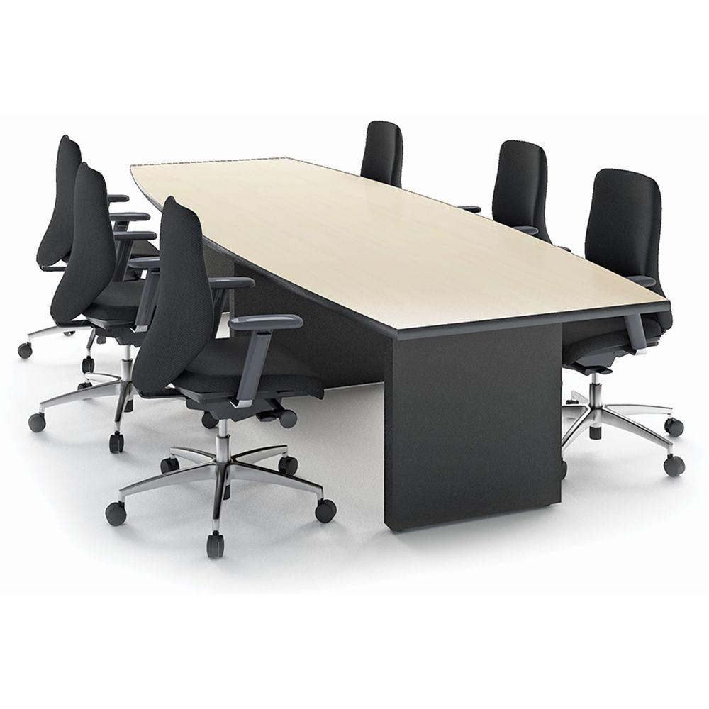Winsted BoatShaped Conference Room Table M BH Photo Video - 144 conference table