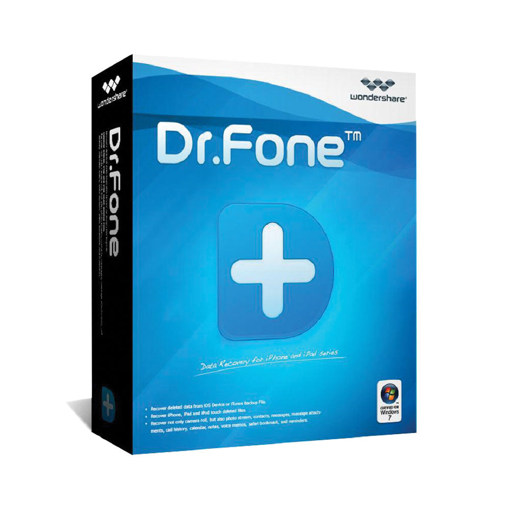 Wondershare Dr.Fone Data Recovery for iPhone 5/4S/New iPad (Download)