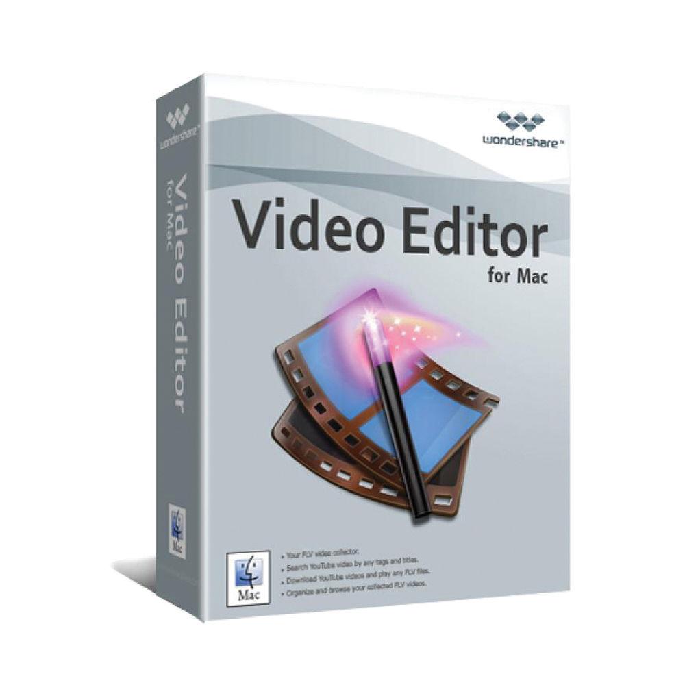 Video editor for mac wondershare