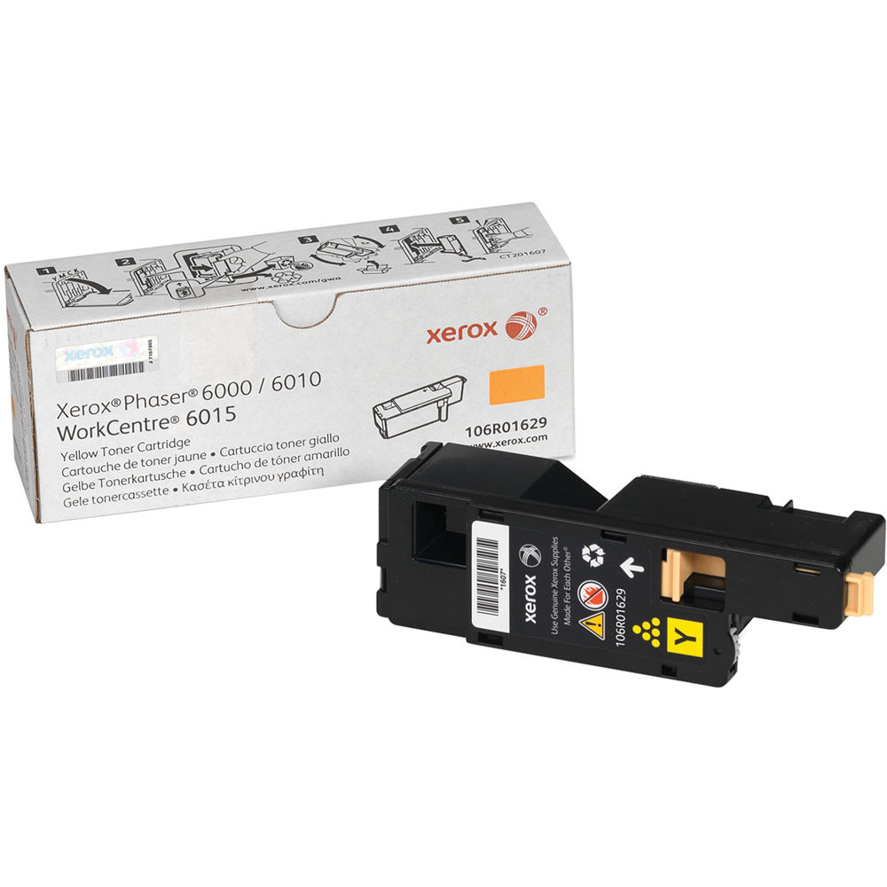Xerox toner cartridge for phaser 6010 and workcentre 6015 yellow