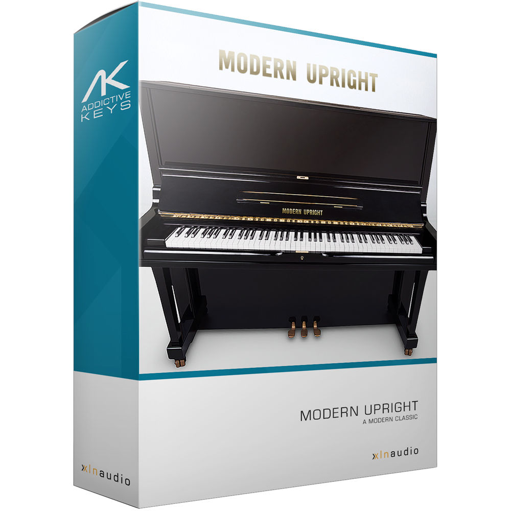 Xln audio addictive keys modern upright virtual for Aprire piani moderni