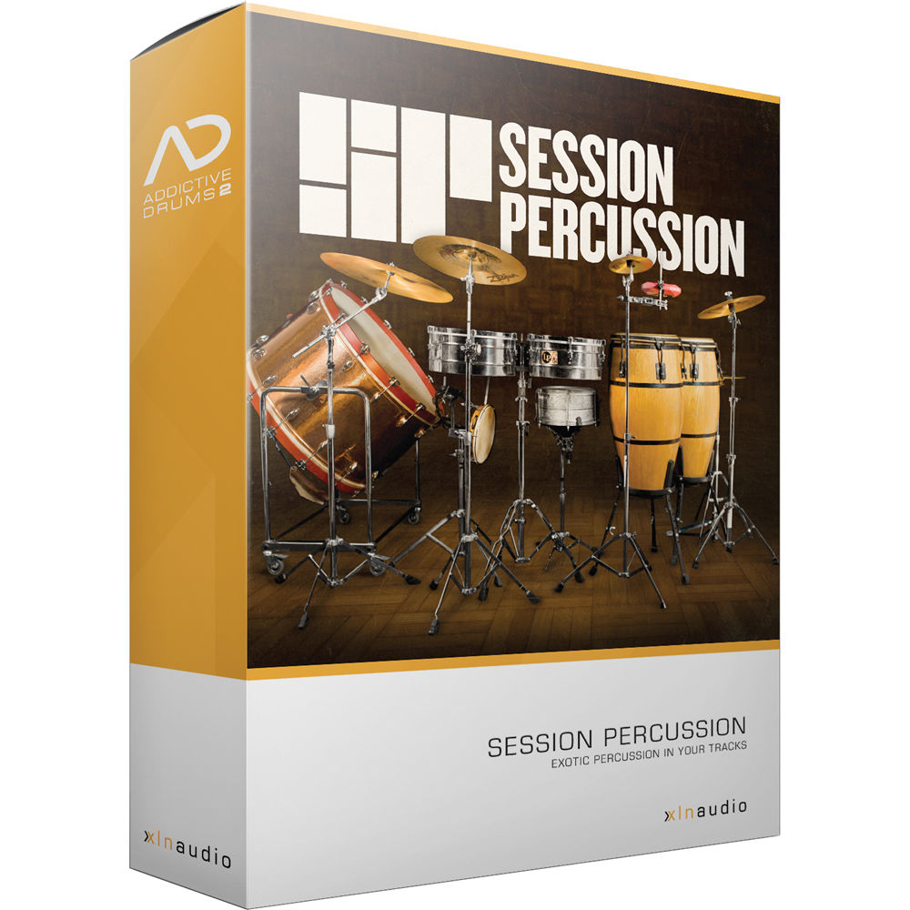 xln audio session percussion ad2 adpak virtual drum xln1058. Black Bedroom Furniture Sets. Home Design Ideas