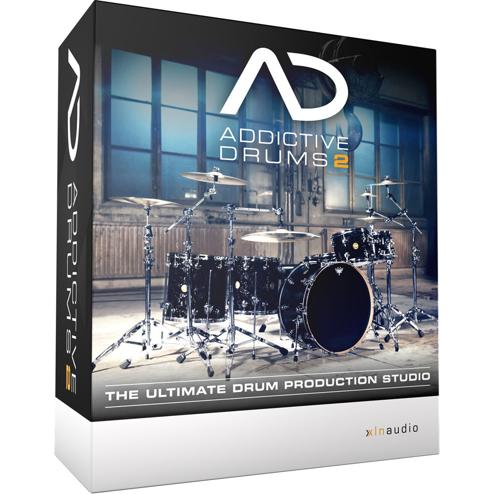 xln audio addictive drums 2 ultimate drum producti xlnb0008 b h. Black Bedroom Furniture Sets. Home Design Ideas