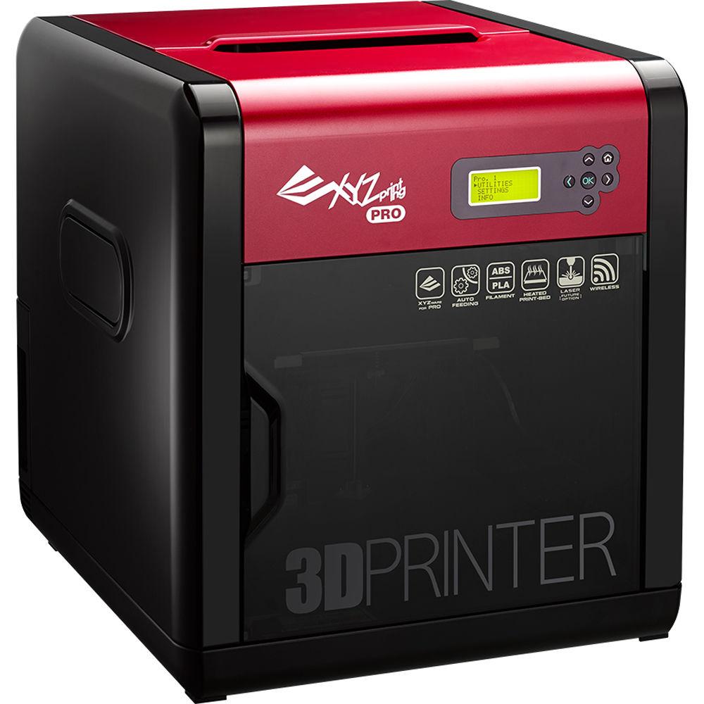 XYZprinting Da Vinci 1.0 Pro 3D Printer 3F1AWXUS00K B&H Photo