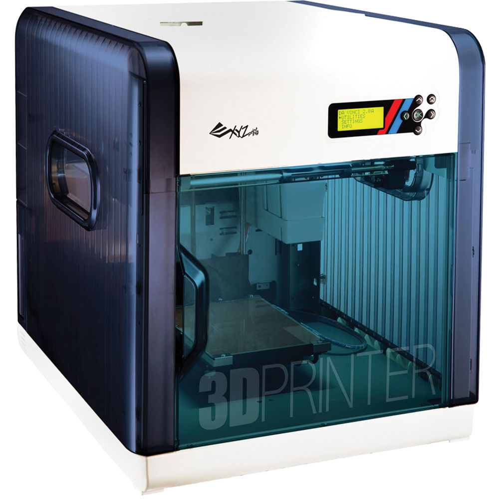 XYZprinting Da Vinci 2.0 Duo 3D Printer (Blue) 3F20AXUS00B B&H