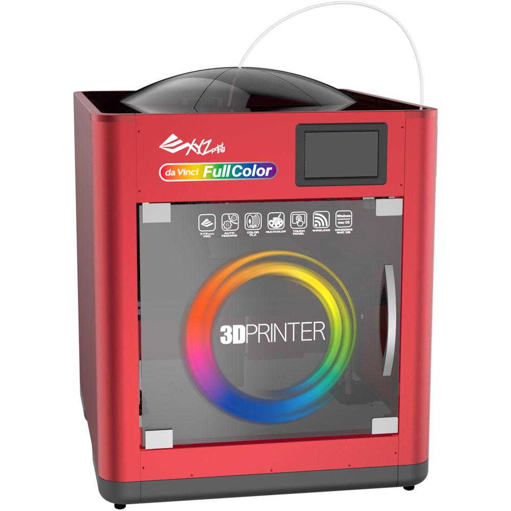 Used XYZprinting Da Vinci Color 3D Printer 3FC1XXUS00B B&H