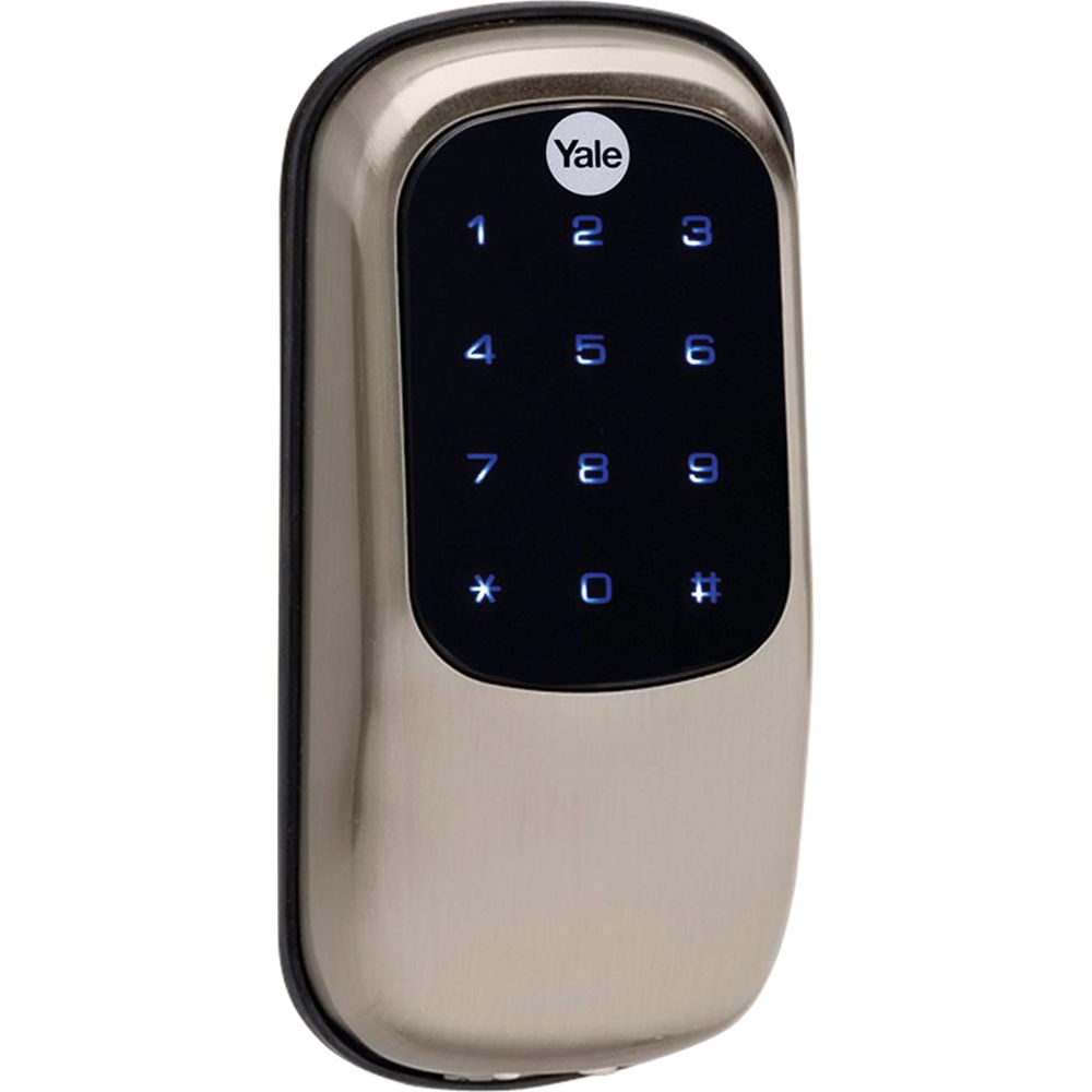 Yale Key Free Touchscreen Z Wave Deadbolt Entry Lock