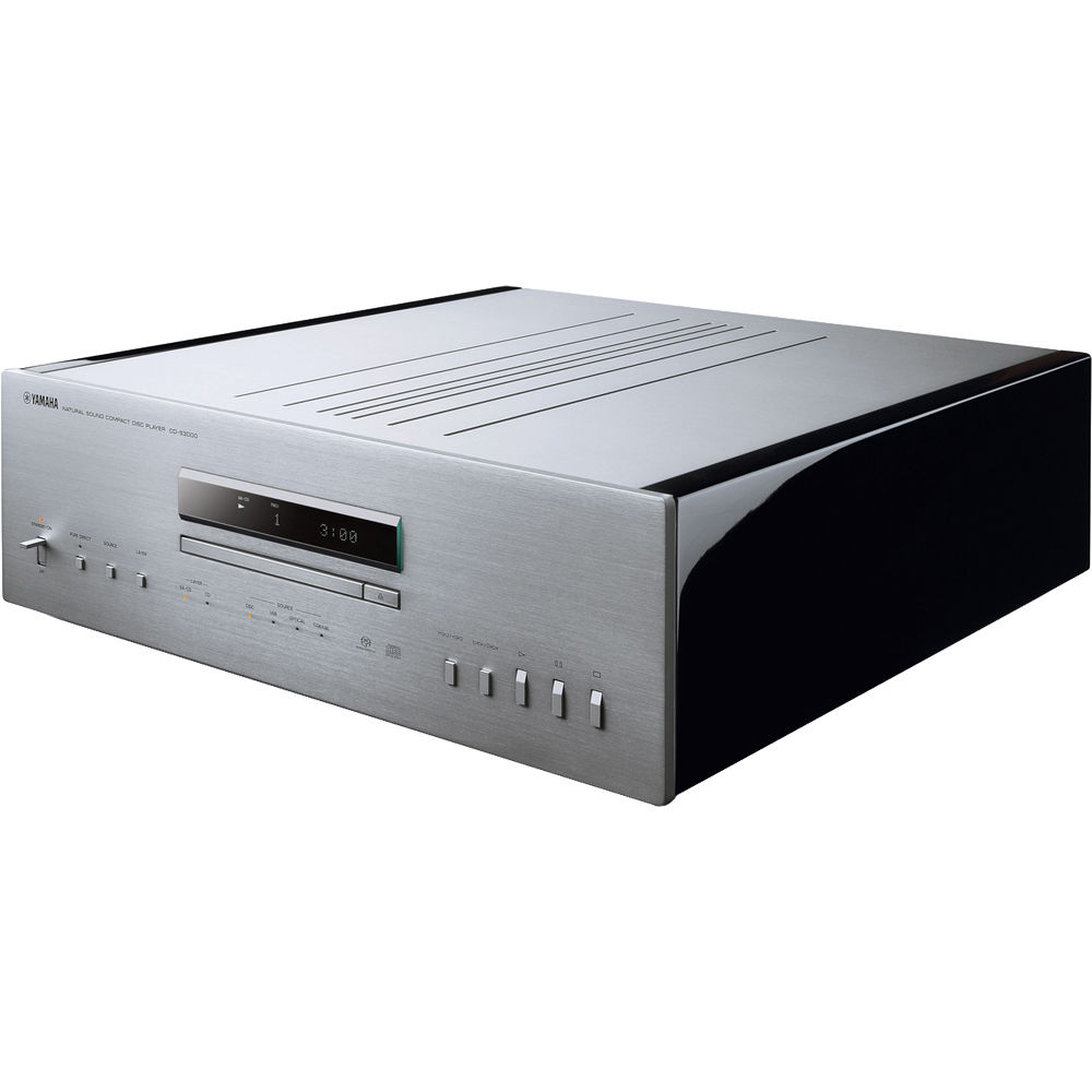 yamaha cd s3000 natural sound cd player silver cd. Black Bedroom Furniture Sets. Home Design Ideas