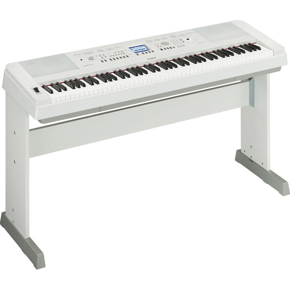 yamaha white grand piano - photo #14