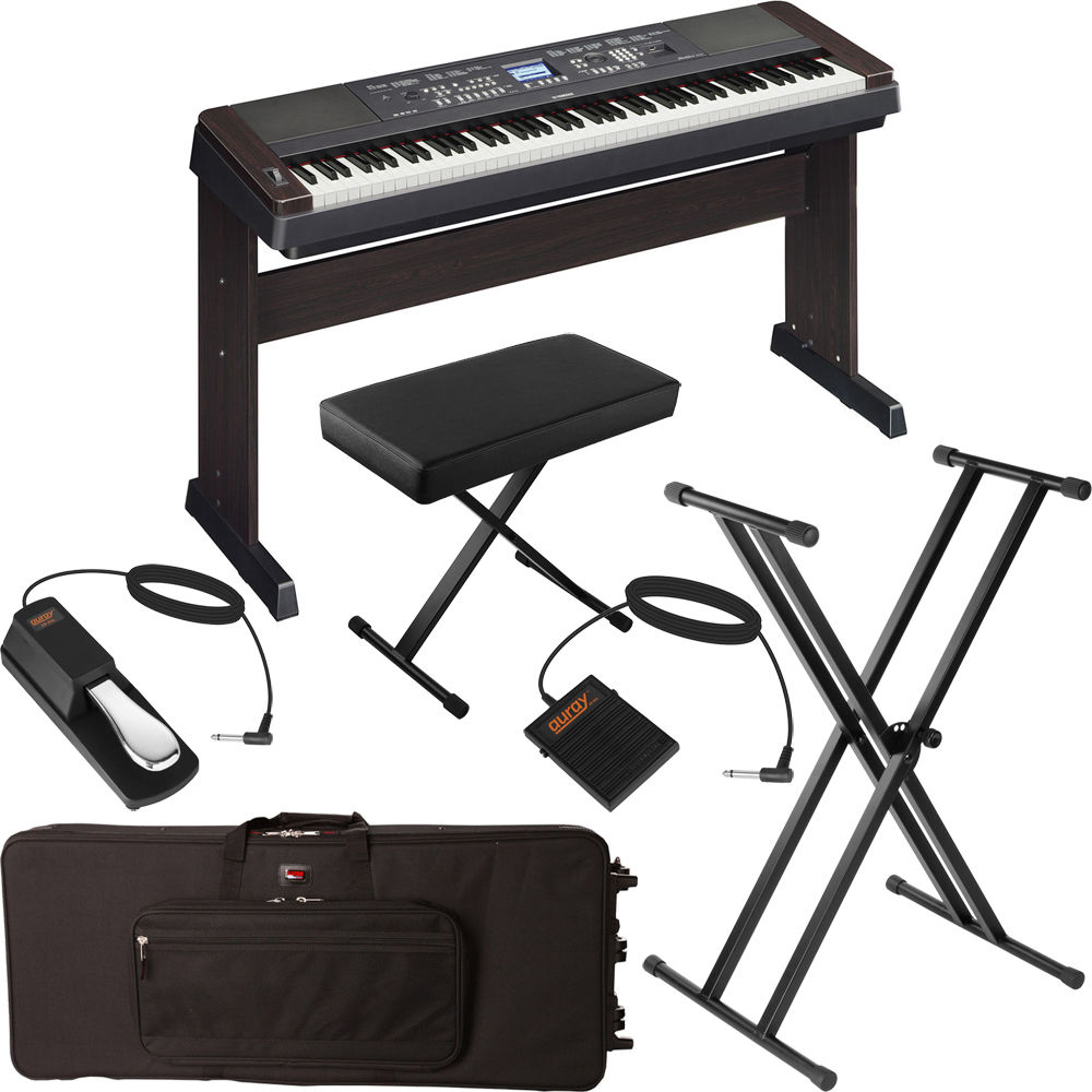 Yamaha dgx 650 portable grand digital piano stage bundle for Yamaha dgx 660 review