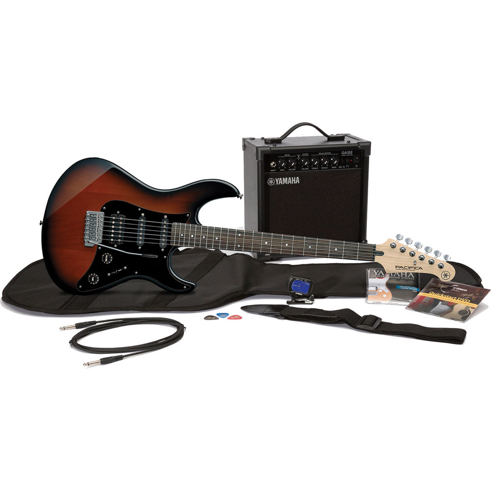 Electric Guitars Bh Photo Video Diagrams Further You Need To Enable Javascript On Guitar Hsh Yamaha Gigmaker Bundle Pacifica Pac012 15 Watt Amplifier With Accessories