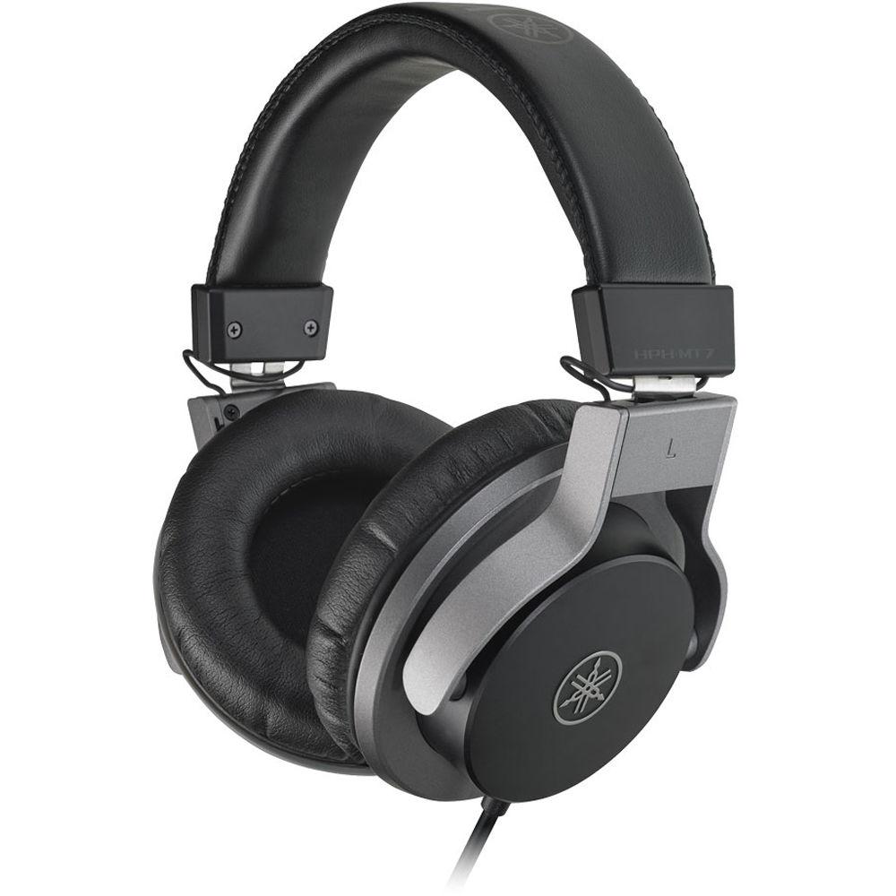 yamaha hph mt7 studio monitor headphones black hph mt7 b h. Black Bedroom Furniture Sets. Home Design Ideas