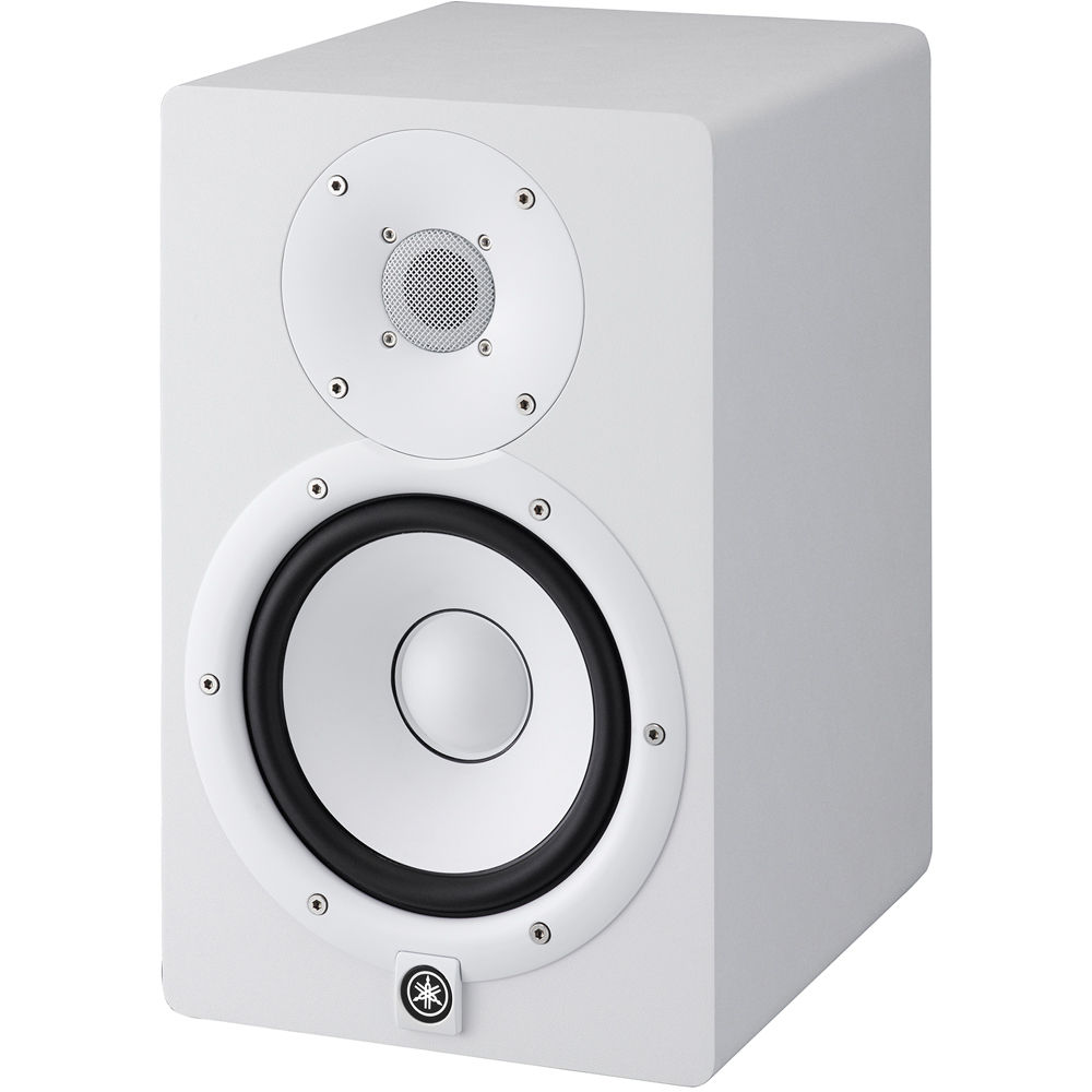 yamaha hs7 powered studio monitor single white hs7 w b h. Black Bedroom Furniture Sets. Home Design Ideas