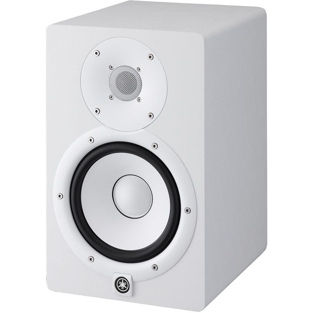 yamaha hs7 powered studio monitor single white hs7 w b h. Black Bedroom Furniture Sets. Home Design Ideas