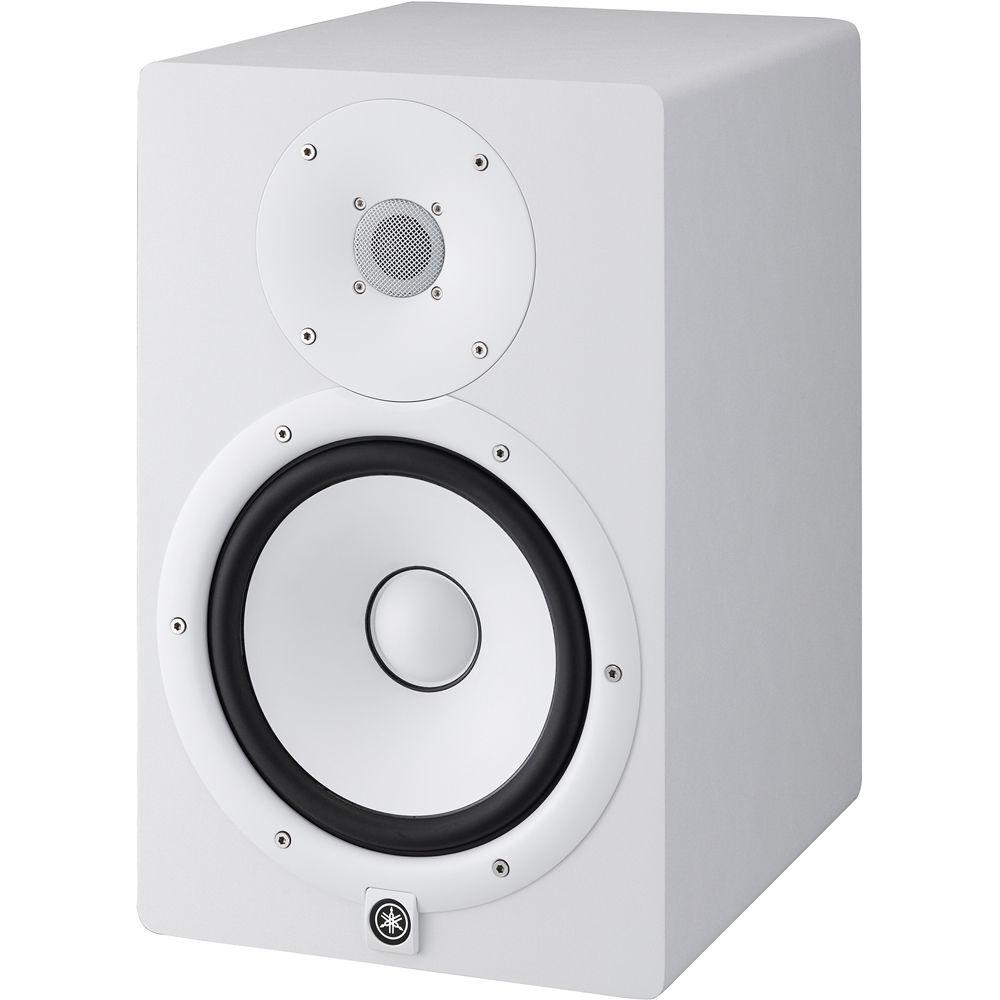 yamaha hs8. yamaha hs8 powered studio monitor (single, white) hs8 o