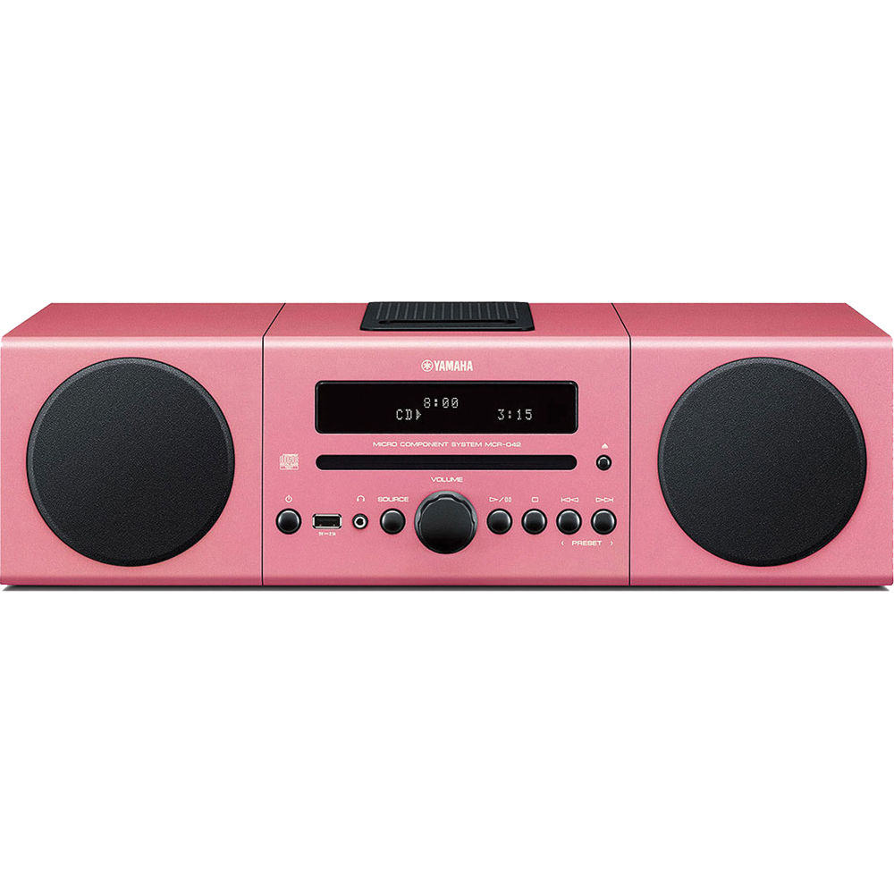Yamaha Mcr B142 Micro Component System Pink B142pi Bh Best Mp3 Usb Amplifier And Radio