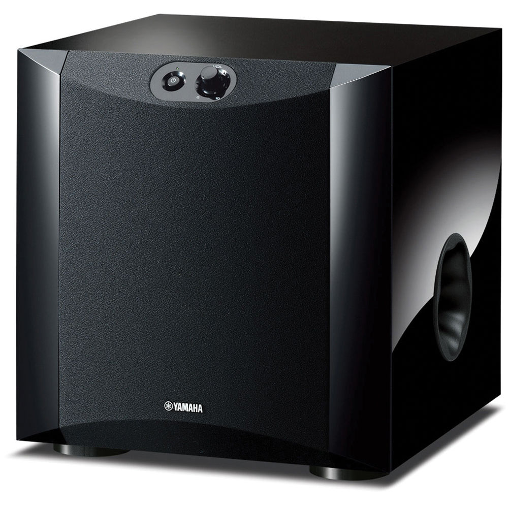 Ns Sw200pn 8 130w Powered Subwoofer Piano Black Figure 1 Circuitry To Decode Mp3 Bitstreamsand Produce Linelevel Yamaha
