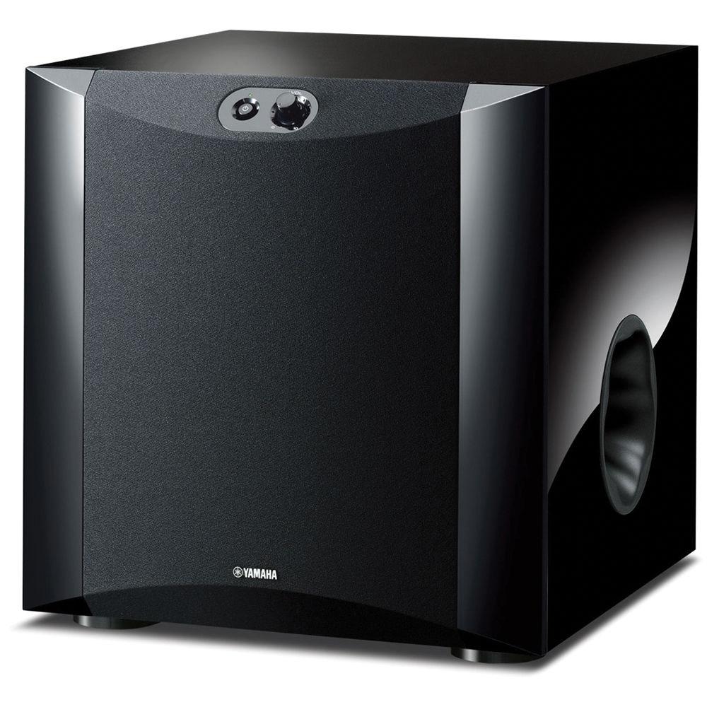 Yamaha ns sw300pn 10 250w powered subwoofer ns sw300pn b h for Yamaha 10 speaker