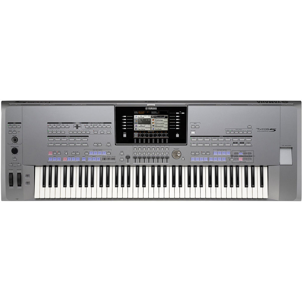 Keyboard And Workstation : yamaha tyros5 76 arranger workstation tyros5 76 b h photo video ~ Russianpoet.info Haus und Dekorationen