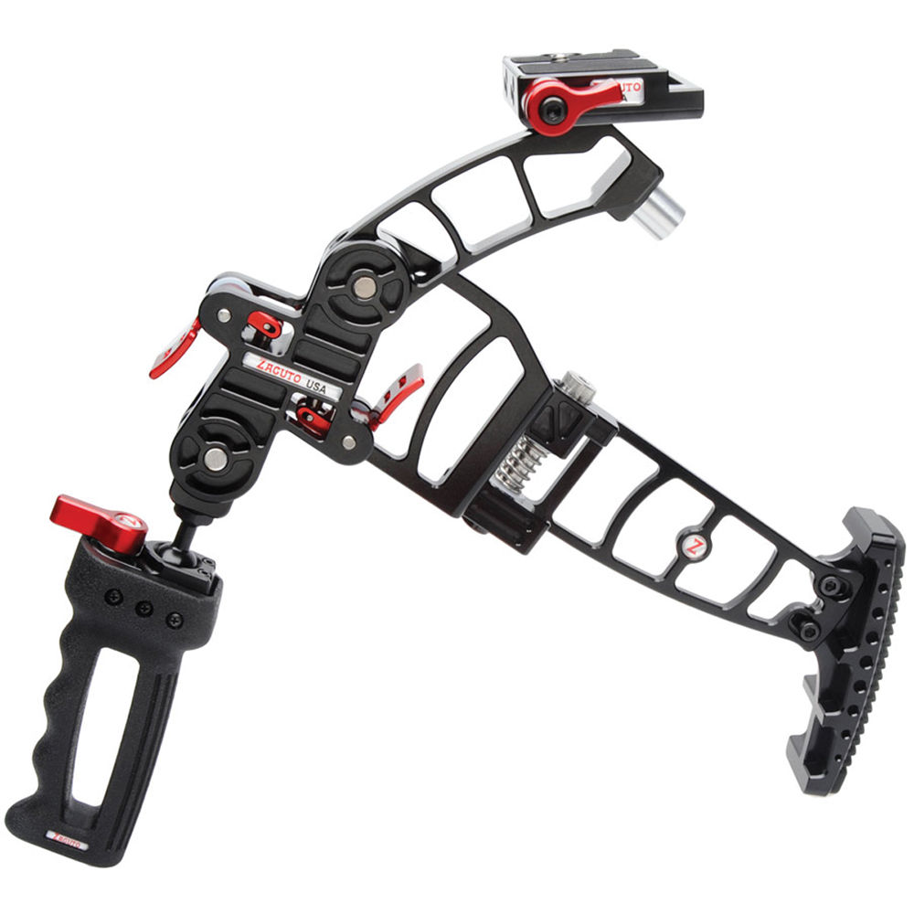 Zacuto Marauder Foldable Camera Rig Z Dmr B Amp H Photo Video