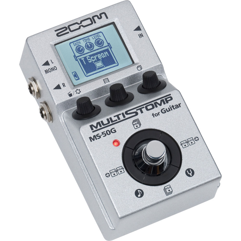 Zoom MS-50G MultiStomp Drivers for Windows 10