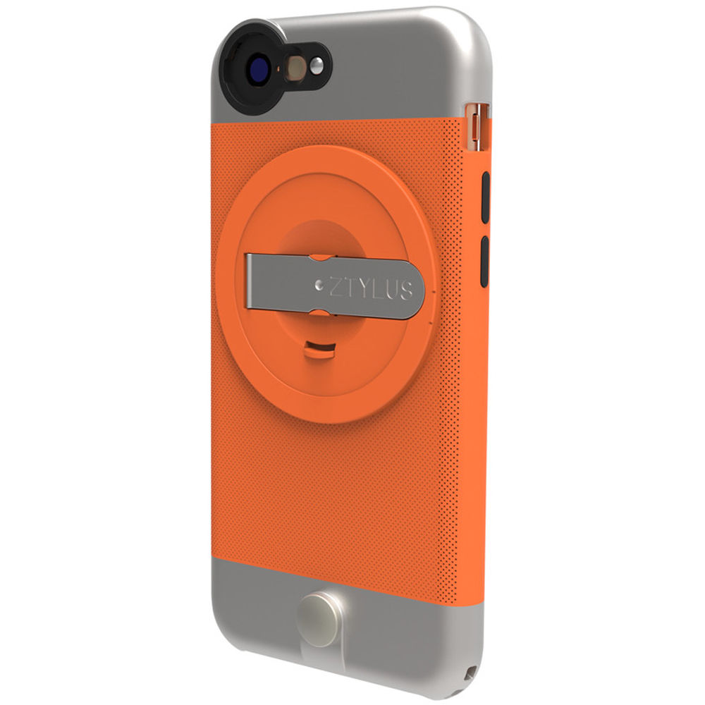 ztylus metal case for iphone 6 plus orange ztip6po b h photo. Black Bedroom Furniture Sets. Home Design Ideas