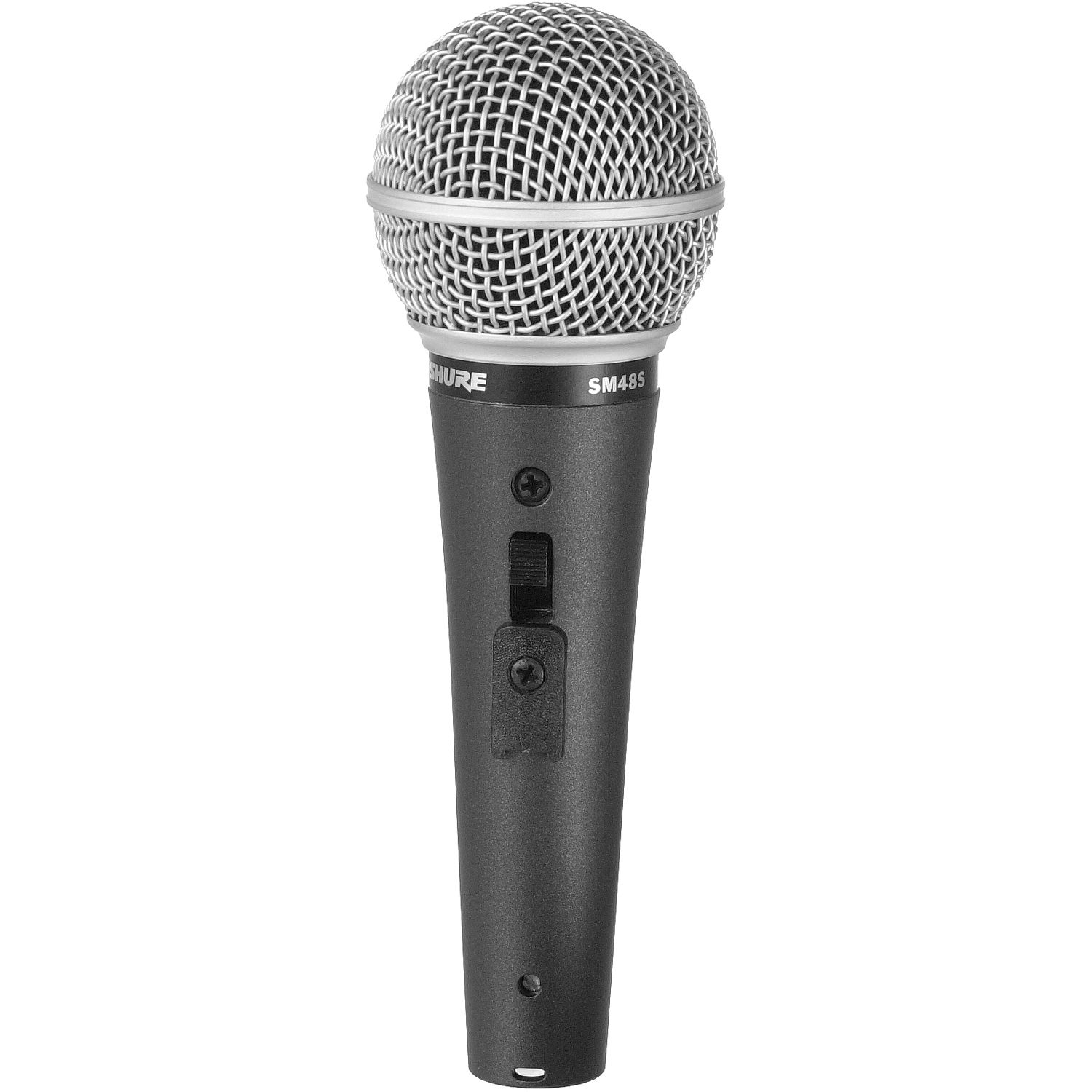 shure sm48s lc vocal microphone with on off switch sm48s lc b h. Black Bedroom Furniture Sets. Home Design Ideas