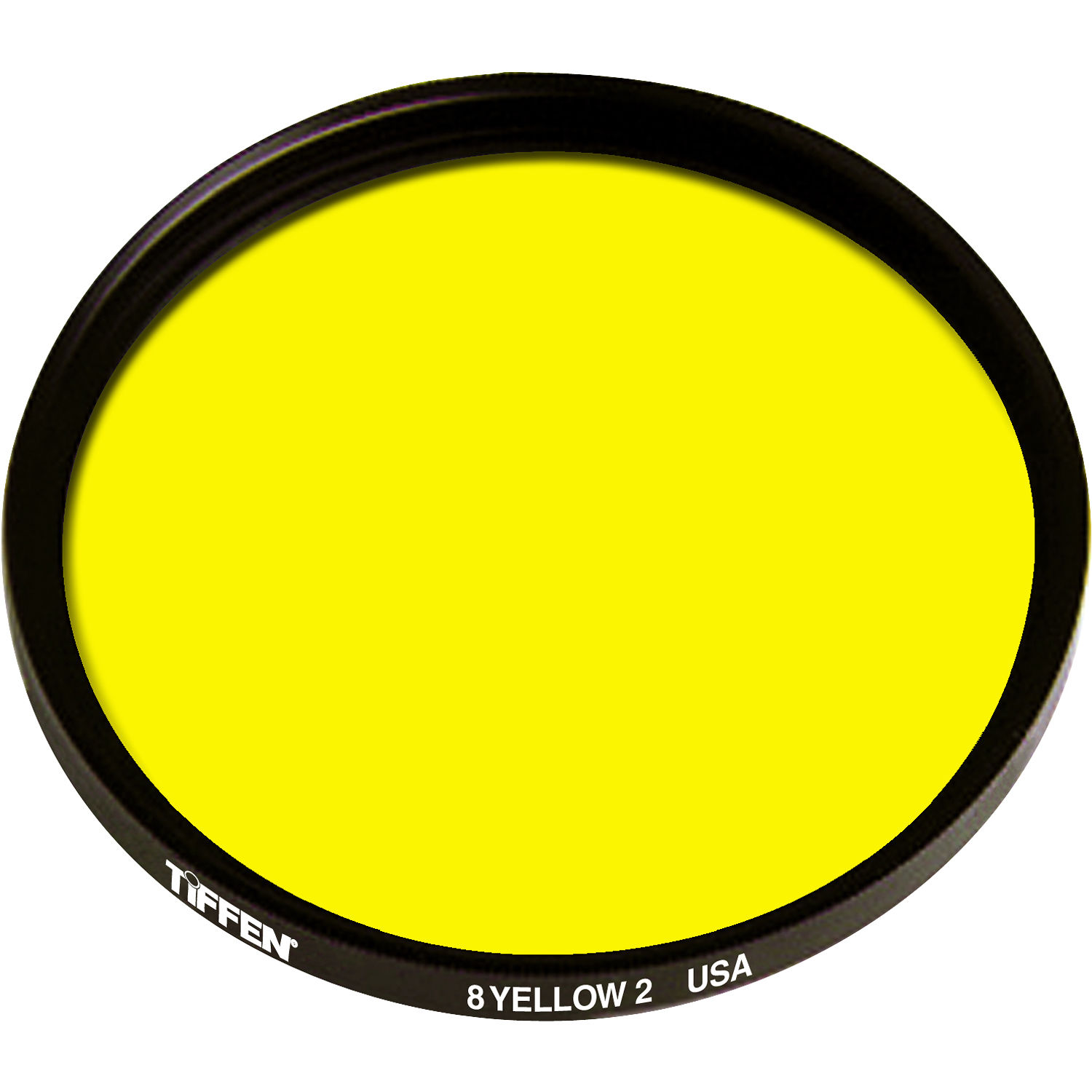 Tiffen 52mm yellow 2 8 glass filter for black white film