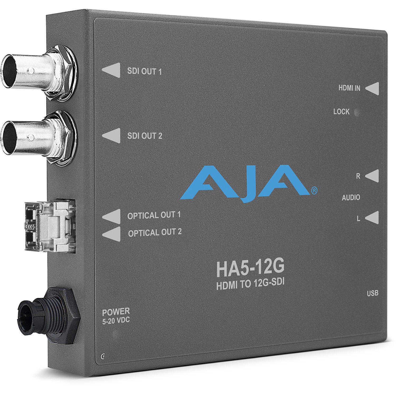 Aja Ha5 12g T Hdmi 20 To Sdi Mini Converter Bh Rbvhda8 3g Hd Sdsdi 1 Input 8 Output Video Distribution Amplifier With