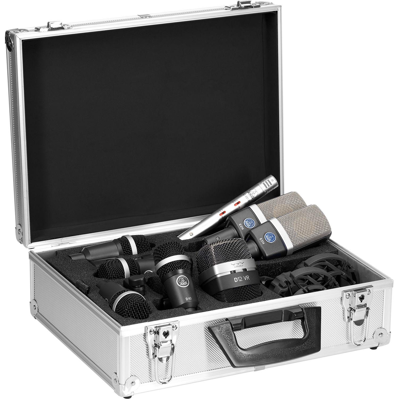akg drum premium microphone set 2581x00140 b h photo video. Black Bedroom Furniture Sets. Home Design Ideas