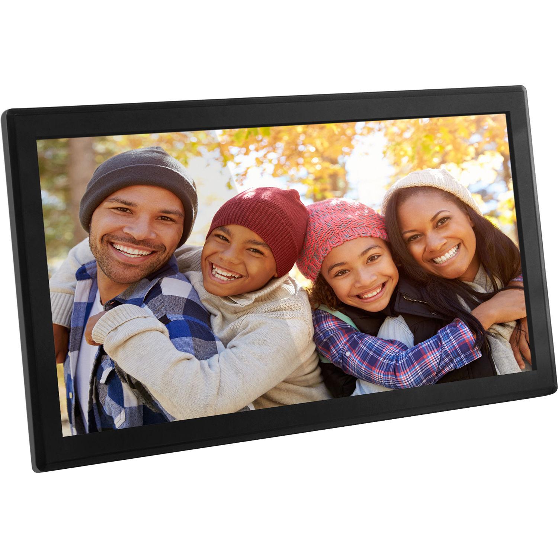 aluratek awdmpf117f 173 wi fi digital photo frame - Wifi Digital Frame