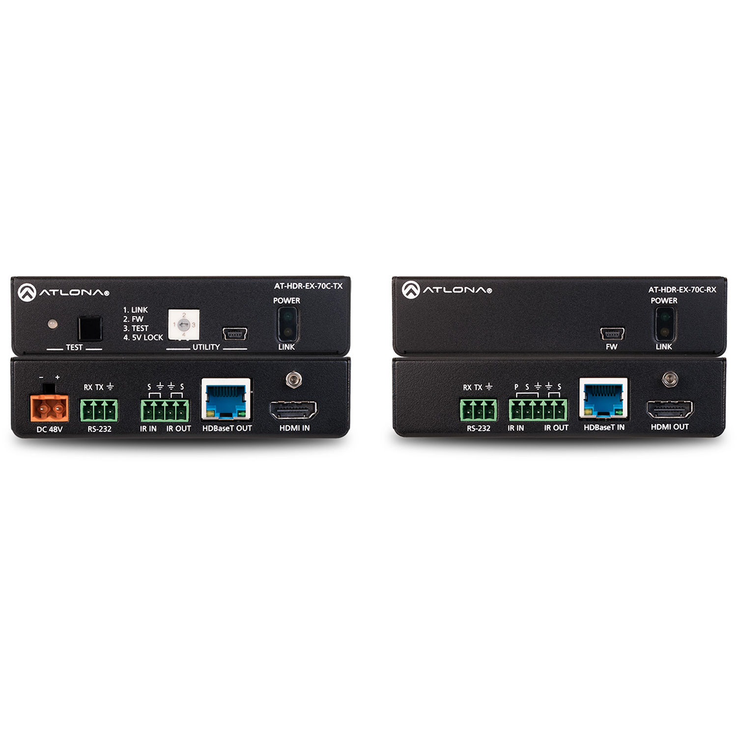 Atlona 4k Hdr Transmitter And Receiver Set At Ex 70c Kit Bh Design Your Circuit Part Iv Ir Electronics Hobby With Rs 232 Poe