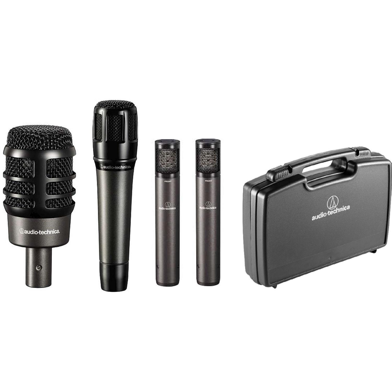 Audio Drum Mic Set : audio technica artist series drum microphone set atm drum4 b h ~ Russianpoet.info Haus und Dekorationen