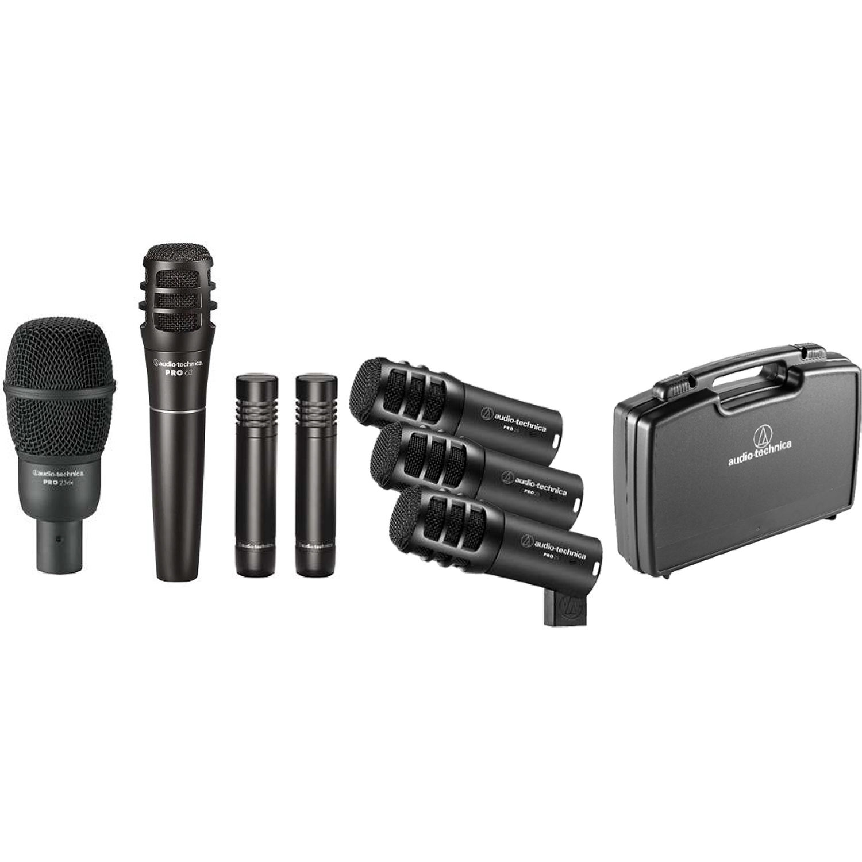 Audio Drum Mic Set : audio technica pro drum7 pro series drum microphone set ~ Russianpoet.info Haus und Dekorationen