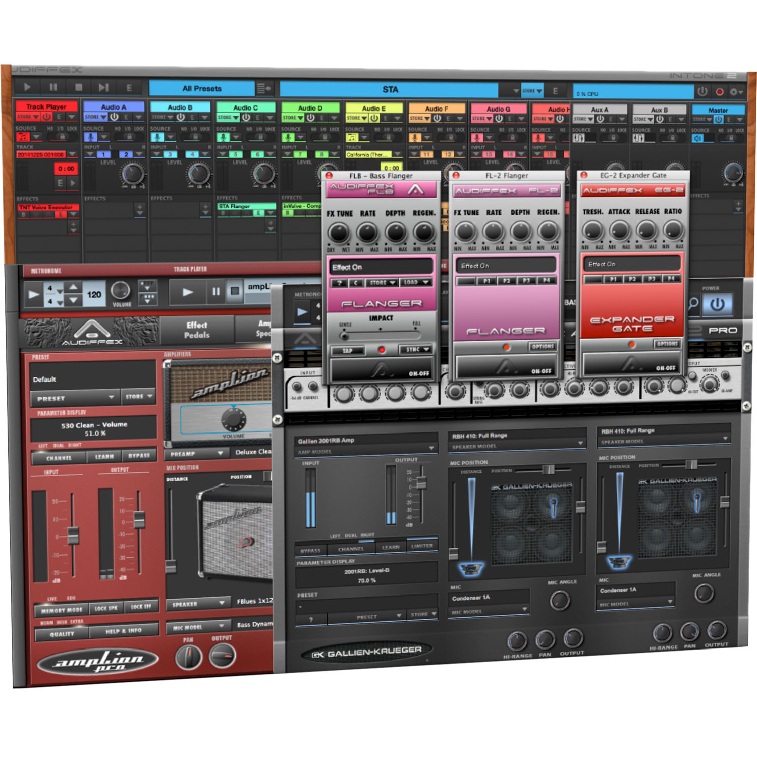 audified pedals guitar pedal emulation plug in aud pd1 b h. Black Bedroom Furniture Sets. Home Design Ideas