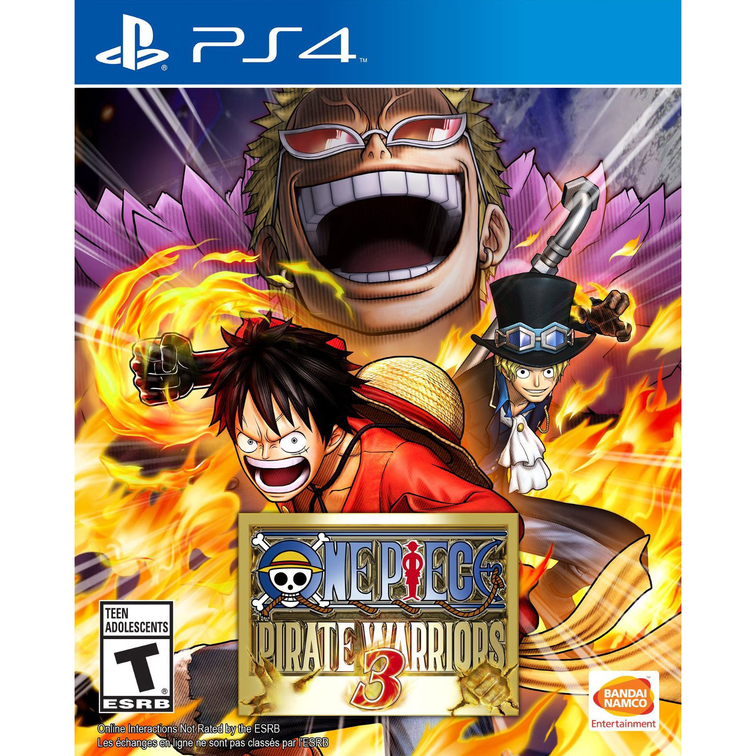 BANDAI NAMCO One Piece: Pirate Warriors 3 (PS4) 12011 B&H