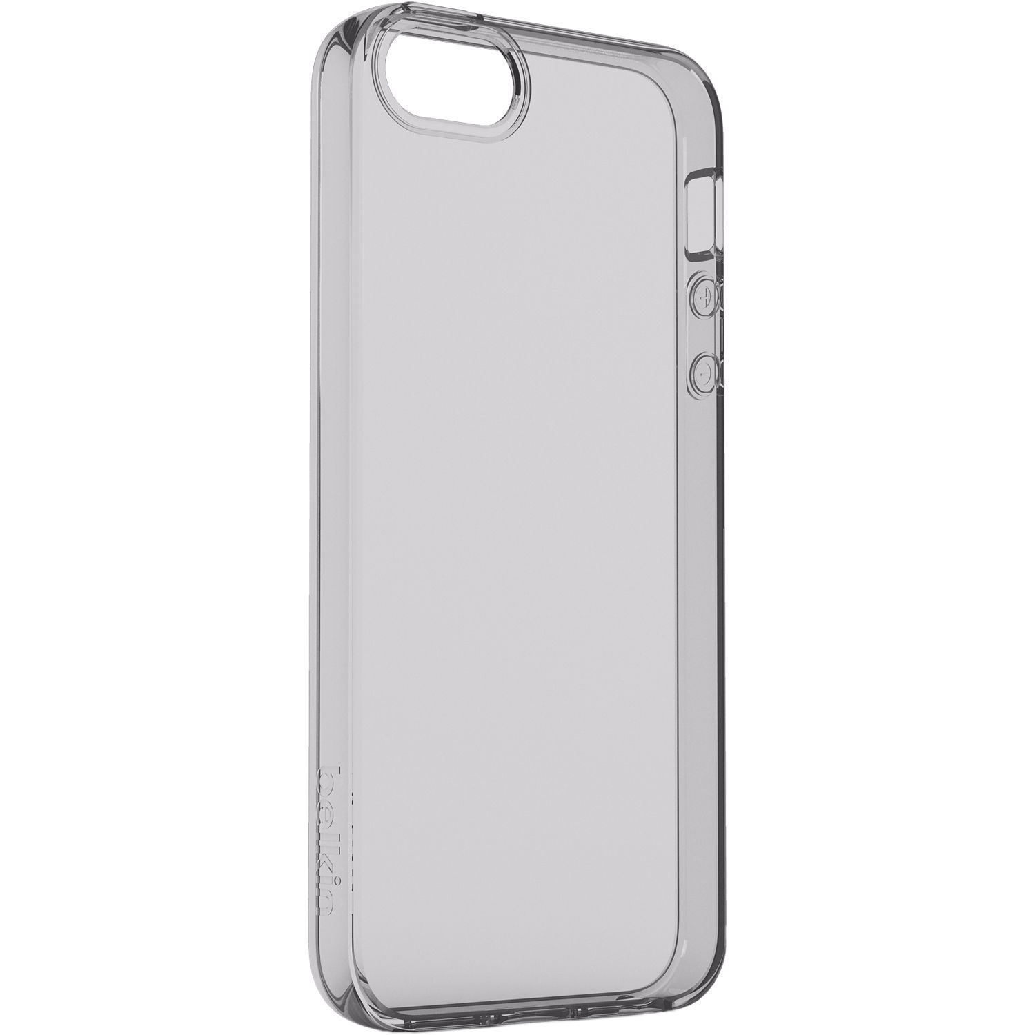 belkin air protect clear for iphone se f8w716btc00 b h