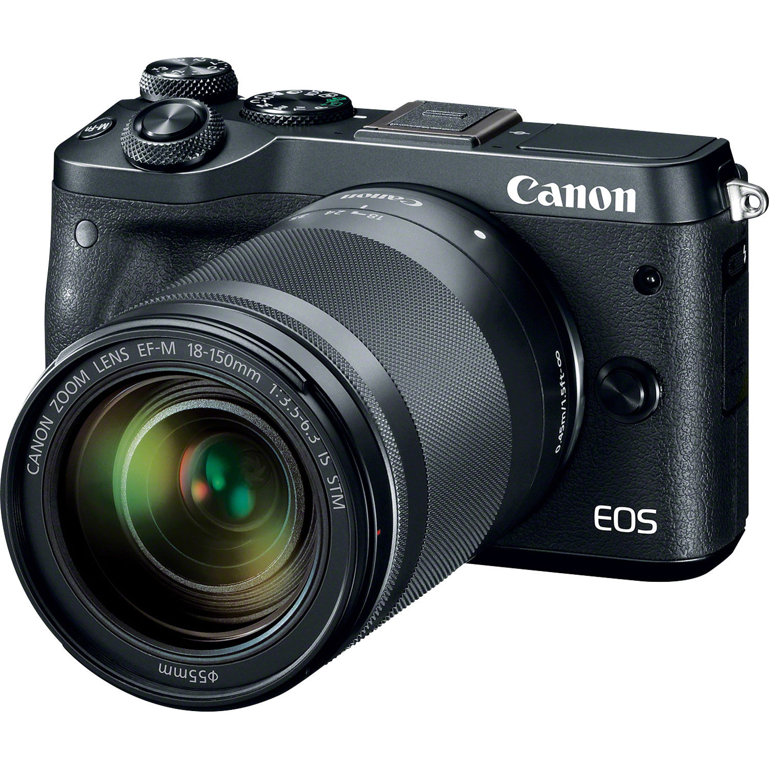 Canon EOS M6 Mirrorless Digital Camera with 18-150mm 1724C021