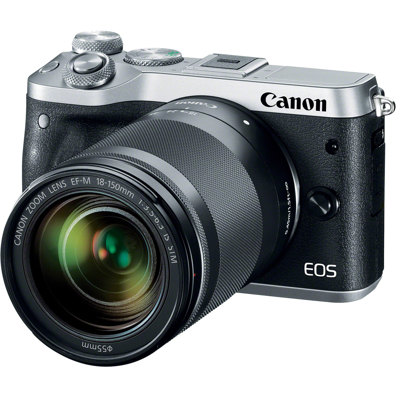 Canon EOS M6 Mirrorless Digital Camera with 18-150mm 1725C021