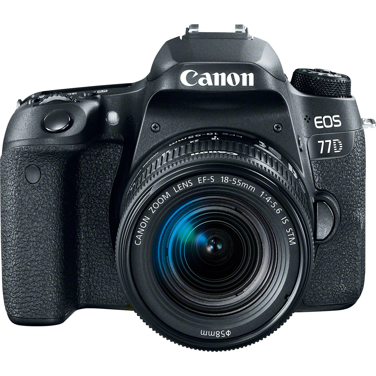 Canon EOS 77D DSLR Camera with 18-55mm Lens 1892C016 B&H Photo