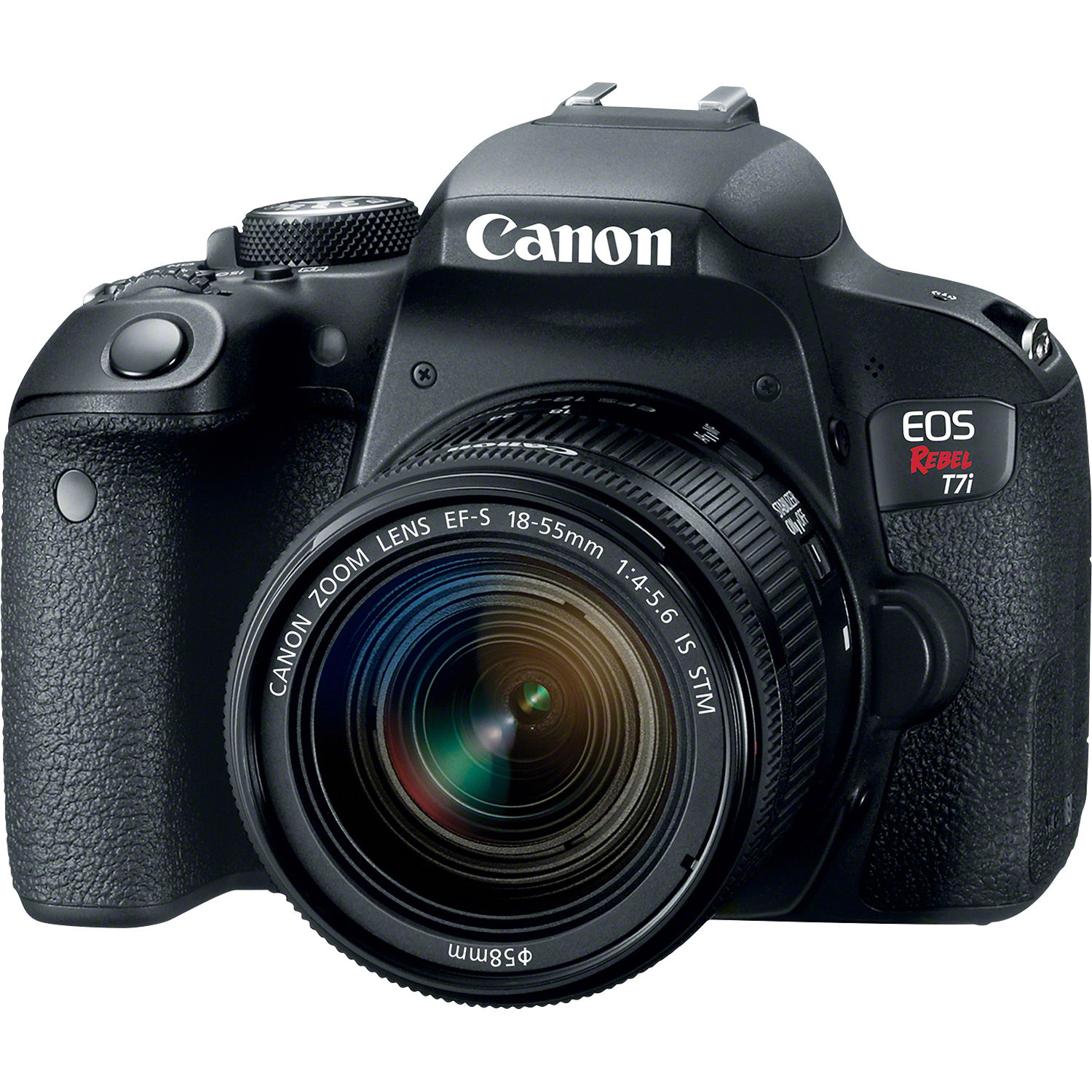 Canon EOS Rebel T7i DSLR Camera with 18-55mm Lens 1894C002 B&H