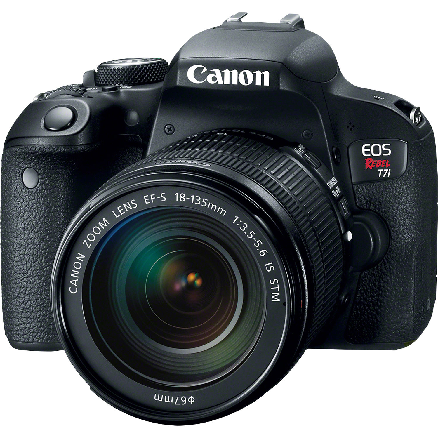 Canon EOS Rebel T7i DSLR Camera with 18-135mm Lens 1894C003 B&H