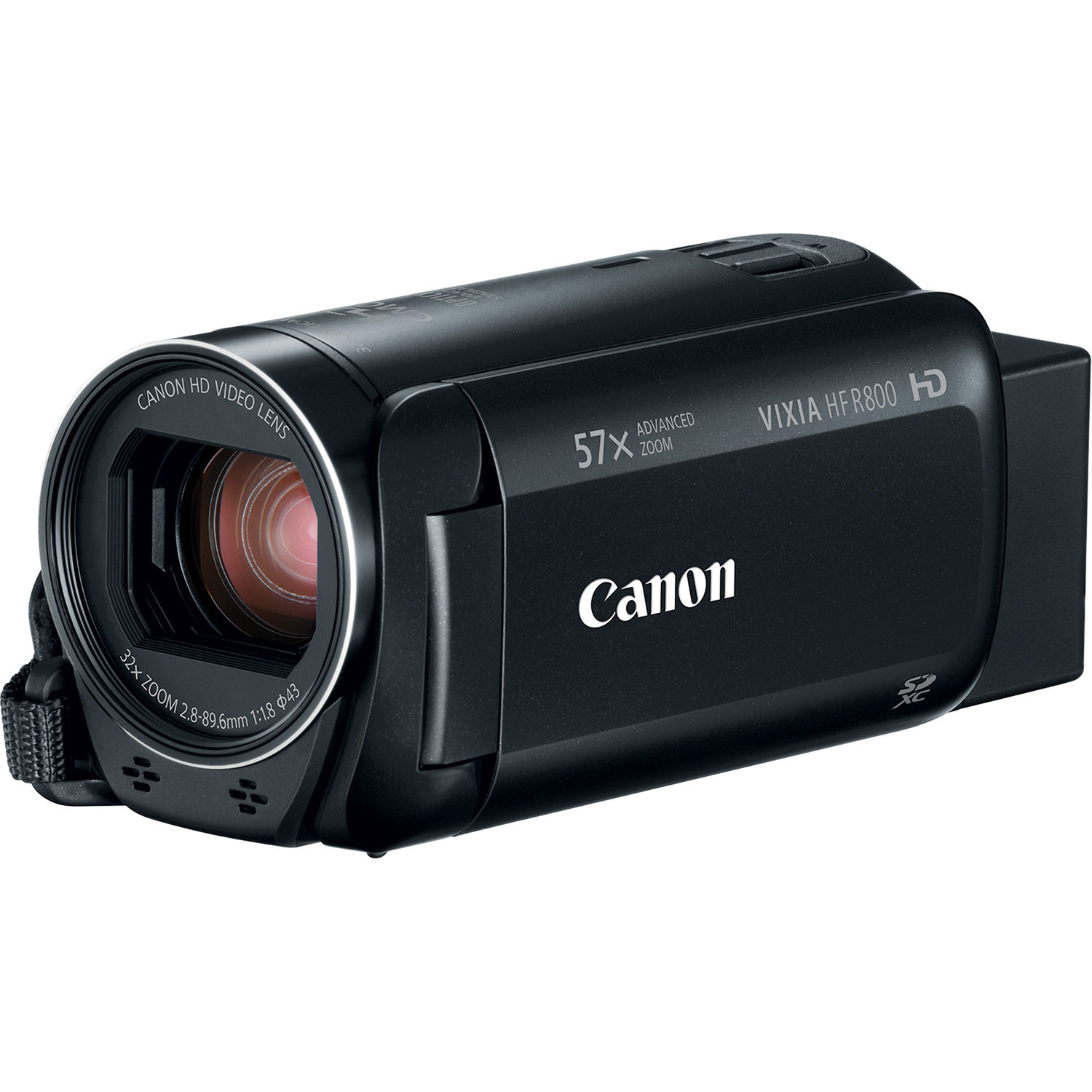 Canon Vixia Hf R800 Camcorder Black 1960c002 B H Photo Video