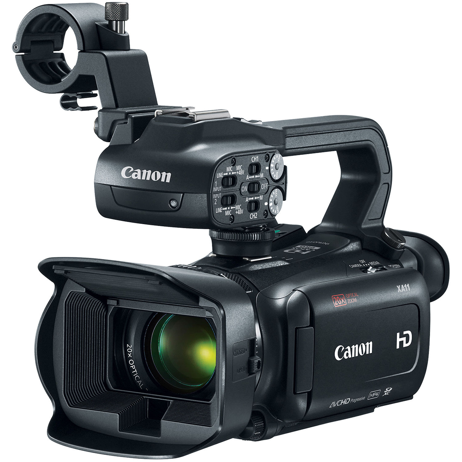 Canon Xa11 Compact Full Hd Camcorder With Hdmi And 2218c002 Bh 5 Pin Dmx Wiring Diagram Composite Output