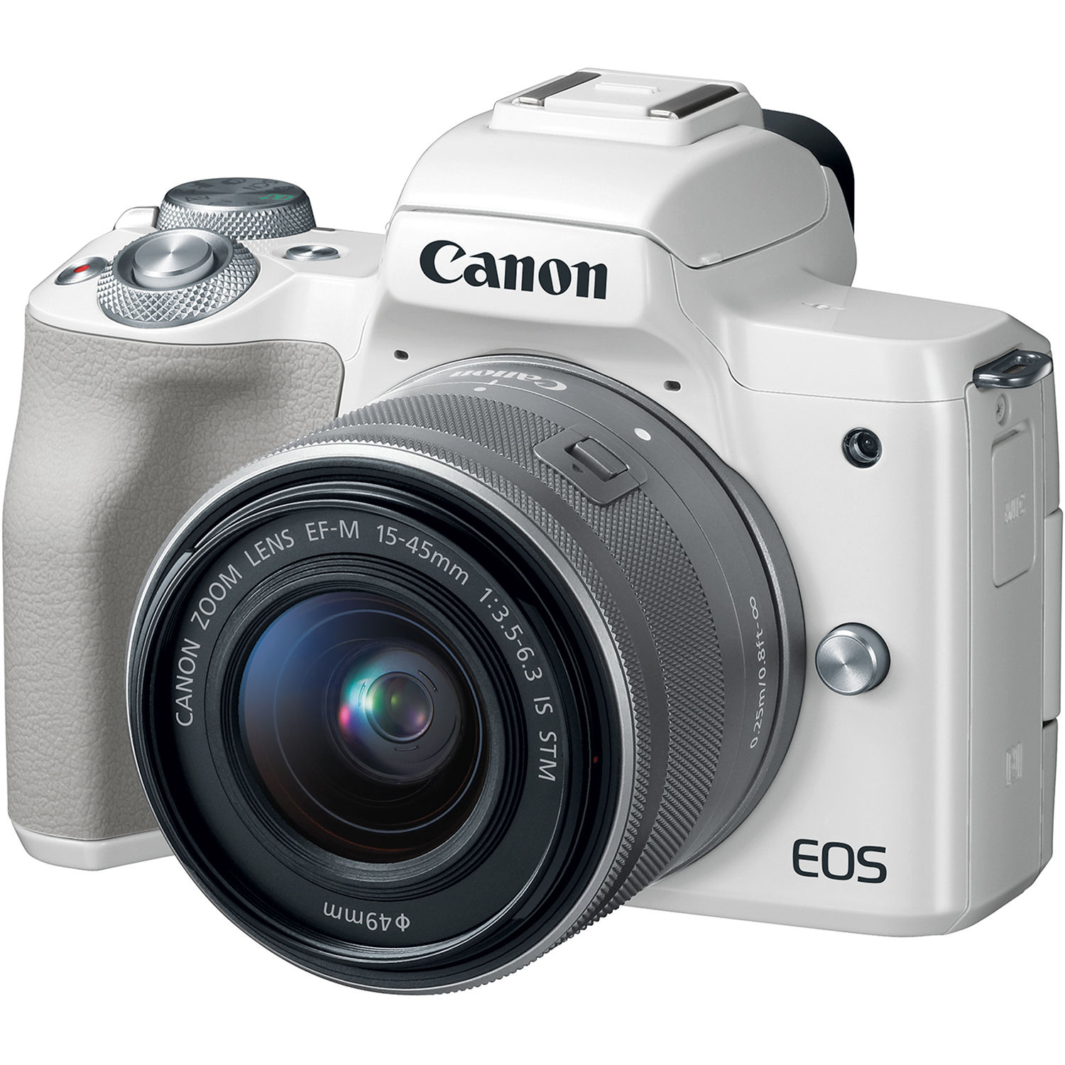 Canon Eos 2000d: Canon EOS M50 Mirrorless Digital Camera With 15-45mm 2681C011